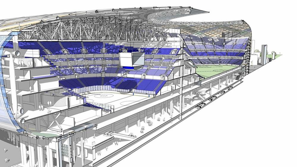 Mb project bureau structural architectural design for Design hotels arena